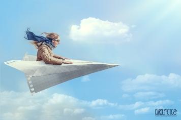 'Flying high'