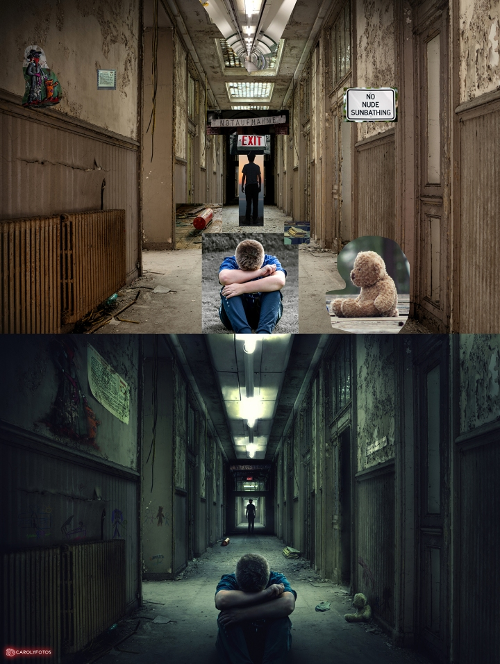 Before and after 'Evilasylum'