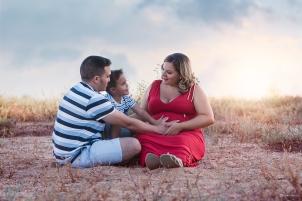 Premamá 8 y familia