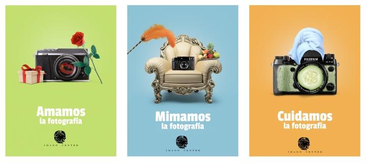 Publicidad creativa creada para Imago Center a partir de la cultura de la empresa (Concepto y fotocomposición)